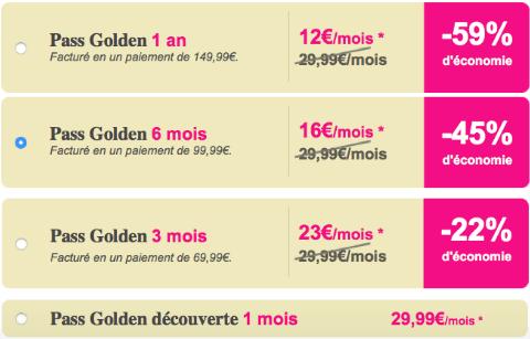 site de rencontre tarif Noisy-le-Grand