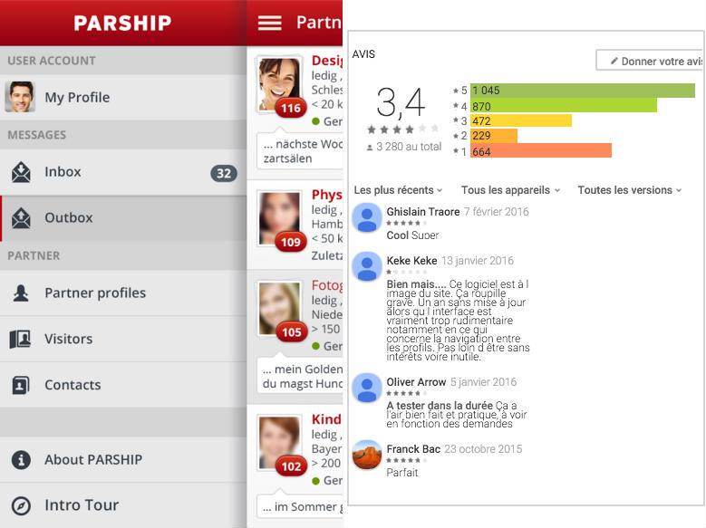 test application parship