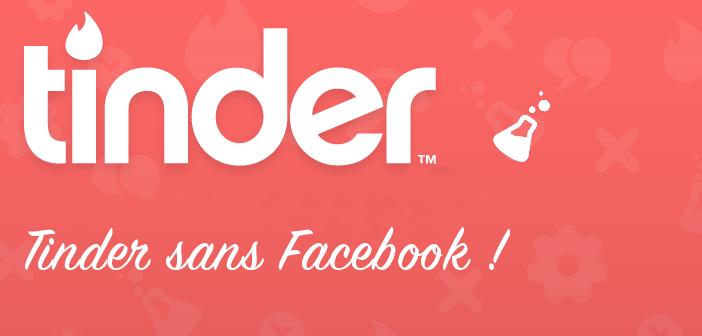 compte tinder sans facebook