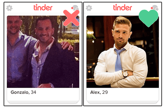 photo tinder qualite