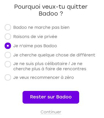 badoo sans payer