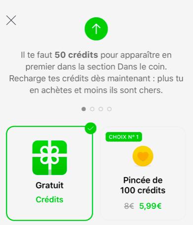 comment avoir des crédits gratuit sur badoo